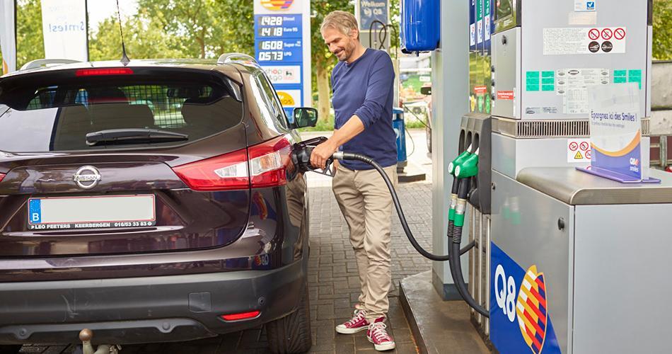 Tankbeurt betalen via smartphone
