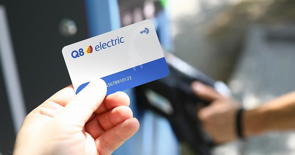 Carte Q8 Electric